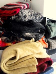 studio wooly pile
