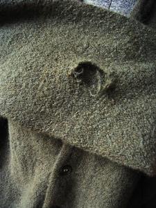 cardigan hole