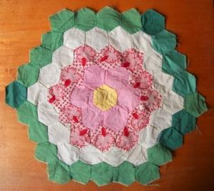 quilt square-hex
