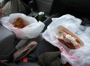 New England-lobsta roll