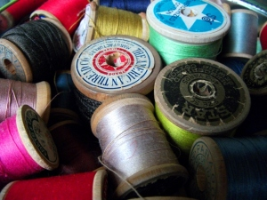 Old things-spools-close