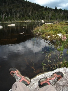ADK-pond hike