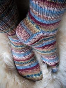 nostalgia socks-heel