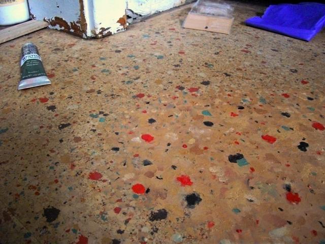 Vintage floor astitchmatism for Vintage linoleum flooring