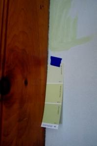 knotty pine paneling & paint