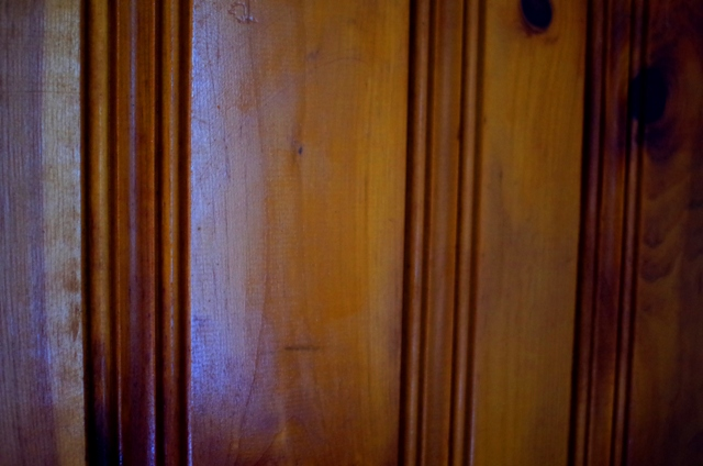Knotty Pine Paneling Astitchmatism