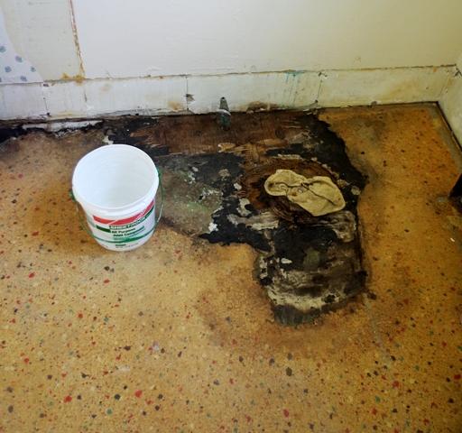 Linoleum Bad floored astitchmatism