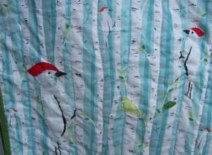 woodpecker quilt