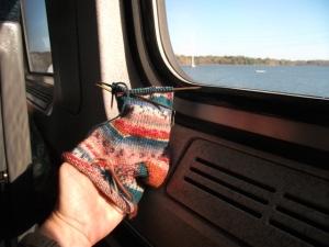 sock on second train