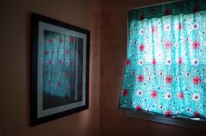 blue light curtain