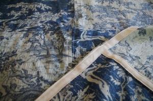 bedspread-binding detail
