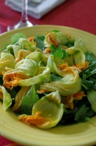 blossom salad