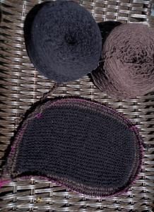brown black blanket