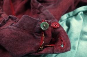 teal dye-button