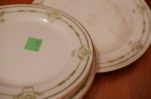 old things-plates