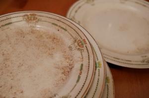oldthings-dirty plates