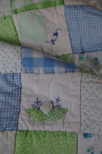 childhood quilt-cabbage