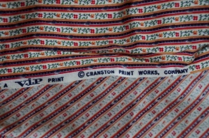 1970s baking fabric